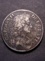 London Coins : A129 : Lot 1137 : Crown 1676 VICESIMO OCTAVO ESC 51 Fine, the obverse with a dark tone, slightly weakly struck...