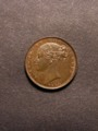 London Coins : A129 : Lot 1293 : Farthing 1853 WW Raised with 3 over 2 in the date, surprisingly unlisted by Peck, GEF/EF wit...