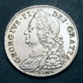 London Coins : A129 : Lot 1429 : Halfcrown 1746 6 over 5 LIMA ESC 607 Bright VF/GVF with some light surface scratches