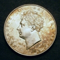 London Coins : A129 : Lot 1452 : Halfcrown 1825 ESC 642 GEF with an attractive golden tone
