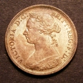 London Coins : A129 : Lot 1559 : Halfpenny 1887 Freeman 358 dies 17+S UNC with around 70% lustre