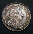 London Coins : A129 : Lot 1745 : Shilling 1723 SSC First Bust ESC 1176 GEF and nicely toned