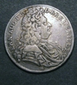 London Coins : A129 : Lot 791 : German States - Brunswick-Luneburg-Calenburg-Hannover 2/3 Thaler 1697 HB (Gulden) KM#A17 Good Fine/F...