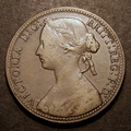London Coins : A130 : Lot 1529 : Penny 1860 Freeman 7 Beaded Border dies 1+C NF/F with the relevant details clear, rated R15 by F...