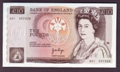 London Coins : A130 : Lot 217 : Ten pounds Page B330 issued 1975 first run prefix A01, UNC