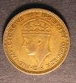 London Coins : A130 : Lot 476 : British West Africa Shilling 1946H FT75 KM#23 Fine/Good Fine Very Rare with no price listed in the F...