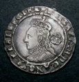 London Coins : A131 : Lot 1054 : Sixpence Elizabeth I 1575 mintmark Eglantine S.2572 EF or near so with a choice portrait
