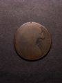 London Coins : A131 : Lot 470 : Mis-strike Penny 1865 partial brockage on a slightly oval blank with VICTORIA D:G: showing i...