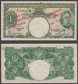 London Coins : A132 : Lot 418 : Malaya Board of Commissioners of Currency 1940 issues KGVI portrait, $1 in green, low se...