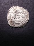London Coins : A133 : Lot 124 : Groat Edward III London mint series B S.1563 mintmark Cross 1 Near VF struck on a ragged flan with s...