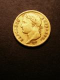 London Coins : A133 : Lot 1304 : France 20 Francs Gold 1811 A Le Franc 516/16 Fine