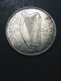 London Coins : A133 : Lot 1374 : Ireland Halfcrown 1934 S.6625 UNC/AU with some hairlines on the reverse