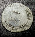 London Coins : A133 : Lot 214 : Testoon Henry VIII Third Coinage Bristol Mint S.2368 mintmark -/WS Good/NVG Rare