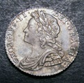 London Coins : A133 : Lot 825 : Sixpence 1731 Roses and Plumes ESC 1607 NEF/EF