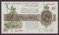London Coins : A134 : Lot 163 : Treasury 10 shillings Warren Fisher T30 issued 1922 last series S/3 881859, light surface dirt&#...