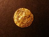 London Coins : A134 : Lot 1743 : Gold Halfcrown Henry VIII London Mint S.2311 mintmark pellet in circle Good Fine on a wavy flan