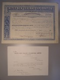 London Coins : A134 : Lot 60 : New Zealand, United New Zealand Exploration Ltd., share certificate, 1896, owned pro...