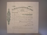 London Coins : A134 : Lot 7 : Australia, Murchison Associated Gold Mines Ltd., share certificate No.11, dated 1901&#44...