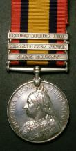 London Coins : A147 : Lot 1398 : Queen's South Africa Medal, 1899-1902, three bars Cape Colony, Orange Free State, South Africa ...
