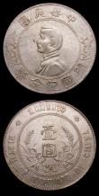 London Coins : A151 : Lot 950 : China Dollars undated (1927) (2) Y#318a.1 the first GVF with some surface marks, the second VF