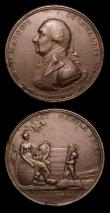 London Coins : A153 : Lot 2078 : William IV Coronation 1831 33mm diameter in copper the official Royal Mint issue Eimer 1251 GVF, Pea...