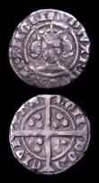 London Coins : A153 : Lot 2095 : Edward III (2) Penny Third Coinage London Mint, Pre-Treaty Period with annulet in each quarter of th...