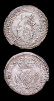London Coins : A153 : Lot 2167 : Scotland Twenty Pence Charles I S.5581 Bust to edge of coin NVF the edge slightly uneven at 6 o'...