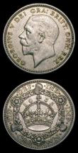 London Coins : A154 : Lot 1868 : Crowns (2) 1933 ESC 373 VF the reverse with a nick on the Crown orb, 1902 ESC 361 GVF/NEF the obvers...