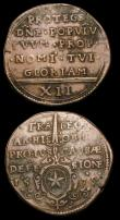 London Coins : A154 : Lot 876 : Netherlands - West Friesland 6 Stuivers 1686 KM#60.3 VG, Netherlands - Maastricht 12 Stuivers 1579 F...