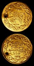 London Coins : A157 : Lot 1640 : Turkey Cedid Mahmudiye Mahmud II (2) KM#645 AH1223 Year 28 and Year 29 both V F or better and pierce...
