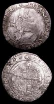 London Coins : A157 : Lot 1918 : Halfcrowns (2) Charles I Tower Mint, Group III, Third Horseman, type 3a1, No caparisons on horse, sc...