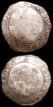London Coins : A157 : Lot 1919 : Halfcrowns (2) Charles I Tower Mint, Group III, Third Horseman, type 3a1, No caparisons on horse, sc...