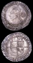 London Coins : A157 : Lot 1971 : Sixpences Elizabeth I (2) 1575 S.2563 mintmark Eglantine Near VF with an edge flaw, 1578 S.2572 mint...