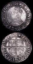 London Coins : A158 : Lot 1763 : Shillings Elizabeth I (2) both Sixth Issue, mintmark Tun VG and About Fine