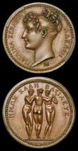 London Coins : A158 : Lot 934 : FRANCE (2), Première Empire. Caroline Bonaparte, Queen Consort of Naples and Sicily, 180...