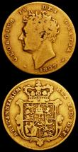 London Coins : A160 : Lot 2207 : Half Sovereigns (3) 1817 Marsh 400 VG, 1820 Marsh 402 VG, 1827 Marsh 408 VG