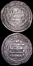 London Coins : A162 : Lot 2056 : Abbsid Empire  Silver Dirhams (3) Fine to NVF
