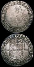 London Coins : A163 : Lot 269 : Elizabeth I Threepence 1574 and Sixpence 1578 both Fine or better and with some old scratches