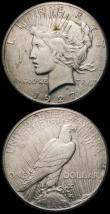 London Coins : A164 : Lot 1897 : USA Dollars (3) 1927 Breen 5727 NEF with a few small spots, 1927D Breen 5729 GVF, 1927S Breen 5728 N...
