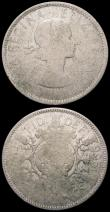 London Coins : A164 : Lot 790 : Mint Errors - Mis Strikes (3) Florin 1966, the designs on both sides, and the edge milling extremely...