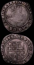 London Coins : A165 : Lot 2465 : Shilling James I Third Coinage S.2668 mintmark Trefoil Fine/Good Fine, Halfgroat Henry VIII Posthumo...