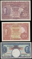 London Coins : A167 : Lot 1567 : Malaya Board of Commissioners of Currency King George VI portrait issues dated 1st July 1941 signatu...