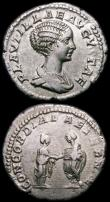 London Coins : A167 : Lot 348 : Roman Denarii (2) Plautilla (198-211AD) Obverse: Bust right, draped PLAVTILLAE AVGVSTA, Reverse: Pla...