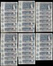 London Coins : A168 : Lot 64 : Five Pounds QE2 portrait & seated child Britannia Hollom, Fforde and Page circa 1960-70's (...