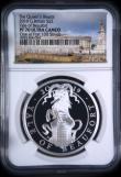 London Coins : A169 : Lot 2006 : Two Pounds 2019 Queen's Beasts - The Yale of Beaufort One Ounce Silver Proof S.QCA6, in an NGC ...
