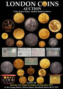 Buy and sell coins, banknotes, medals and bonds at auction