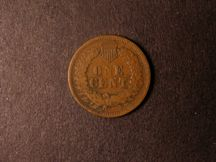 London Coins : A124 : Lot 1989 : USA Cent 1864 L Fine