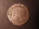 London Coins : A125 : Lot 771 : Sixpence James I, 2nd coinage, 4th bust, mint mark coronet, 1608. S.2658. About very...