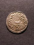 London Coins : A125 : Lot 813 : Ireland Penny John moneyer ROBERD on DIVE (Dublin) GVF with some weak areas, comes with old deal...