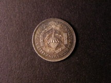 London Coins : A126 : Lot 571 : South Africa Sixpence 1928 KM#16.1 this date curiously unlisted by Krause GEF Toned